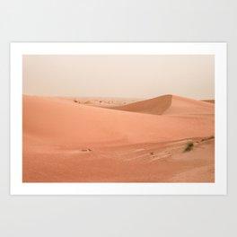 Desert Sand Art Print