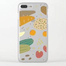 Eating Healthy Clear iPhone Case