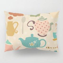 Tea Party Pillow Sham