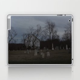 Little Cemetery on the Hill 1 Laptop & iPad Skin