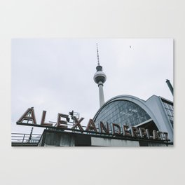 Berlin Alexanderplatz Canvas Print