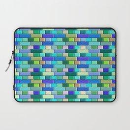Sapphire Blue  Tiles Laptop Sleeve