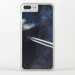 Star Traveller Clear iPhone Case