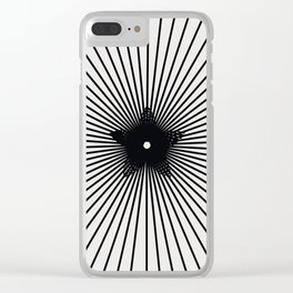 pattern 100 Clear iPhone Case