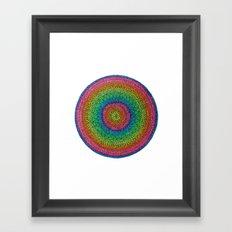 Color Beat Framed Art Print