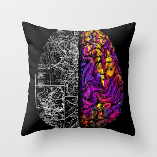 Ambiguity Throw Pillow
