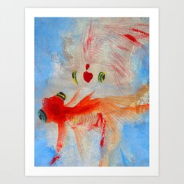 Dance #Society6 #decor #buyart Art Print