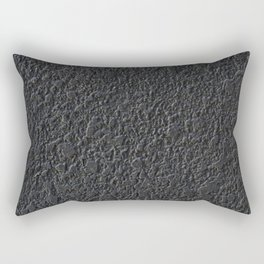 black pattern Rectangular Pillow
