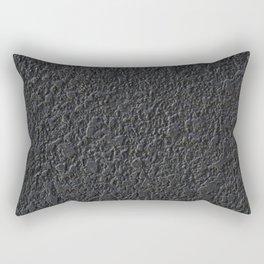 black pattern Rectangular Pillow