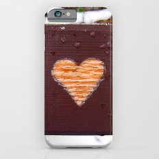 wooden heart. iPhone 6s Slim Case