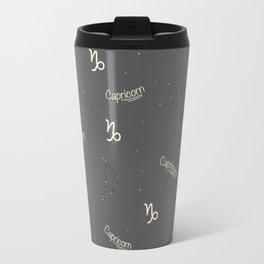 Capricorn Pattern Travel Mug