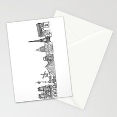 Paris Landmarks by the Downtown Doodler Stationery Cards