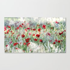 Summer Love, Poppy meadow Canvas Print
