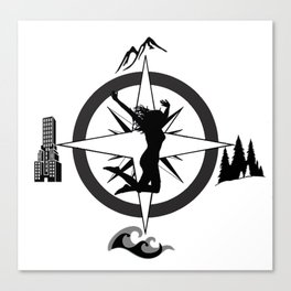 Adventure Bod - Logo Canvas Print