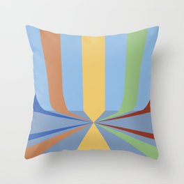 The Rainbow Room Throw Pillow