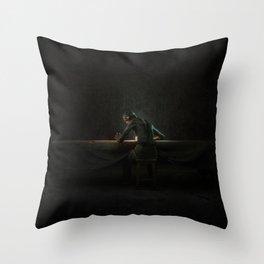 Skullface Throw Pillow