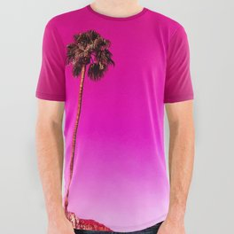 Palm Springs Rush Hour All Over Graphic Tee