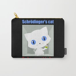 Shrodinger's Cat To be or not to be Carry-All Pouch