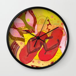 FlopFlip Wall Clock