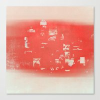 tokyo Canvas Prints featuring Tokyo by Fernando Vieira
