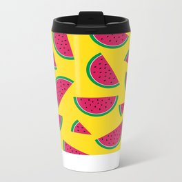 Tutti Fruiti - Watermelon Metal Travel Mug