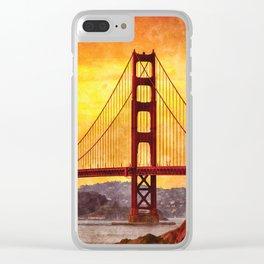 Golden Gate Bridge, San Francisco Clear iPhone Case