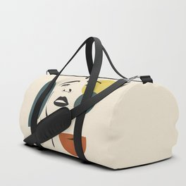 Abstract Face I Duffle Bag