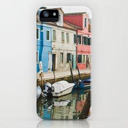 Burano in winter III iPhone Case