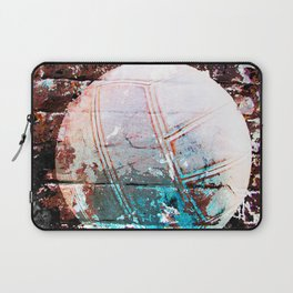 Modern Volleyball Art Laptop Sleeve