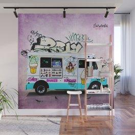 Ice Cream Truck Wall Mural
