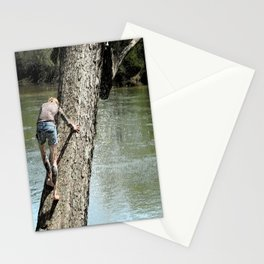 The climb revisited Stationery Cards