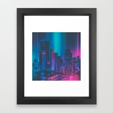 MAINFRAME-1982 (everyday 12.21.15) Framed Art Print