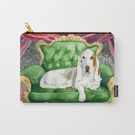Royal Basset Hound Carry-All Pouch