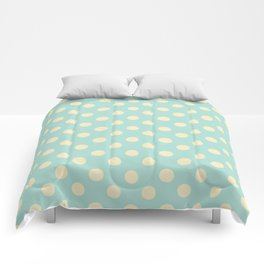 Dotted - Soft Blue Comforters