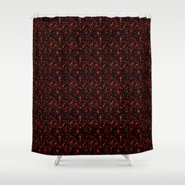 Dark Tortoiseshell Shower Curtain
