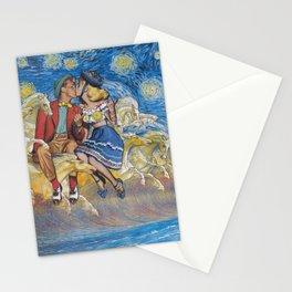 Hitchhiking across the galaxy Stationery Cards