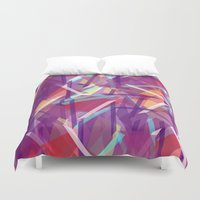 plaid Duvet Covers featuring Plaid Deconstructed by k_c_s
