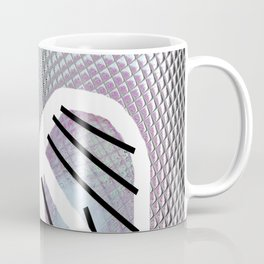 Line and metal Coffee Mug