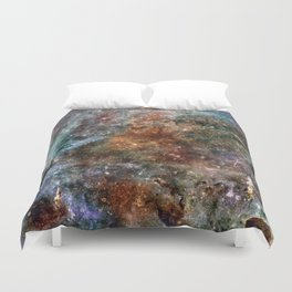 Galaxy Series: Number One Duvet Cover