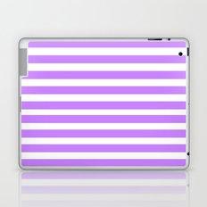 Purple Lines Laptop & iPad Skin