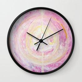 Meditation. Yoga Balance. Chakras Wall Clock