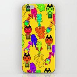Yellow Clown iPhone Skin