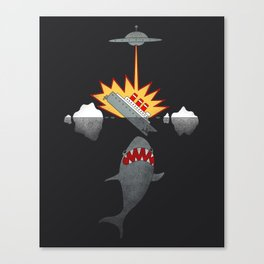 Bad Luck Combo Canvas Print