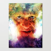 silence of the lambs Canvas Prints featuring Silence by Rabassa