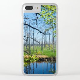 Towne Creek Clear iPhone Case