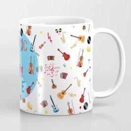 Music is my life (White) Coffee Mug