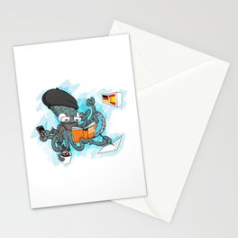 Multitasking Octopus Stationery Cards