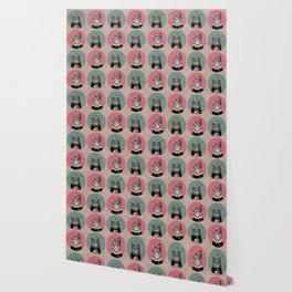 Cats Print Wallpaper