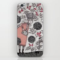 garden iPhone & iPod Skins featuring Winter Garden by Judith Clay