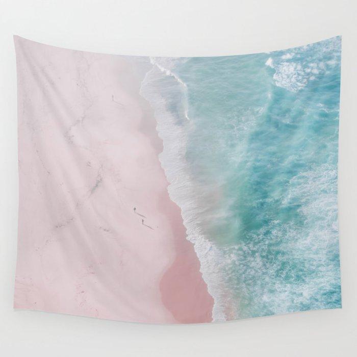 ocean walk Wall Tapestry